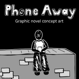 Phone_Away_DewyCreations by .