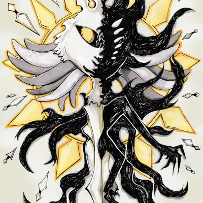 Radiance-Void-illustration-DewyCreations-CR-webshop by .