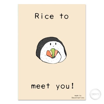 Rice-to-meet-you-postcard-design4-DewyCreations by Dewy Venerius.