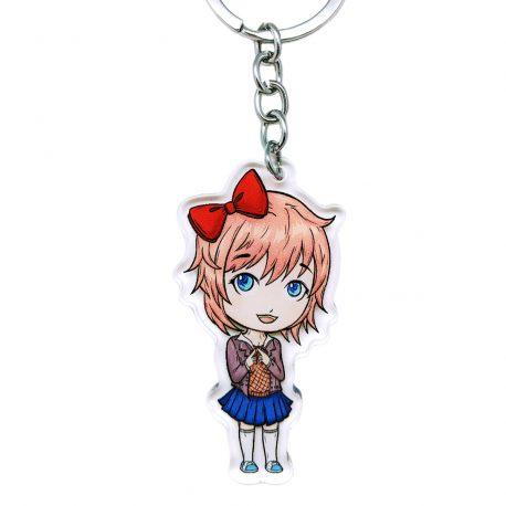 Sayori-DDLC-acrylic-keychain-Doki-Doki-Literature-Club by .