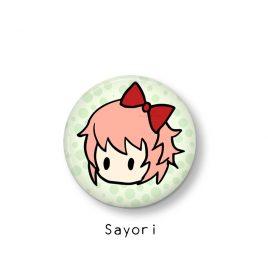 Sayori-button-Doki-Doki-Literature-Club by .
