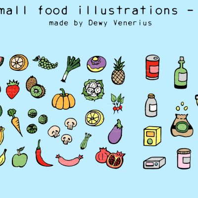Food & ingredient illustrations 2