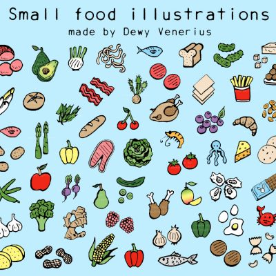 Food & ingredient illustrations