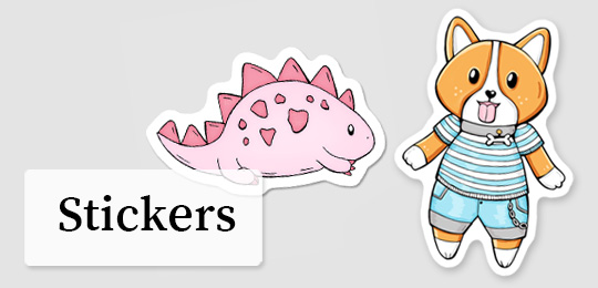 Stickers-DewyCreations3 by .
