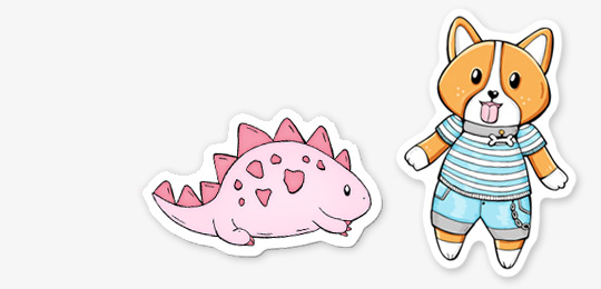Stickers-DewyCreations4 by .