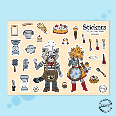 Example of Sticker Sheet