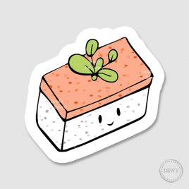 Sushi-sticker-Musaic by Dewy Venerius.
