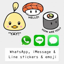 WhatsApp-iMessage-Line-Stickers-Emoji by .