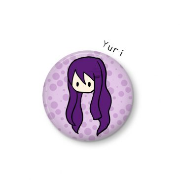 Yuri-button-Doki-Doki-Literature-Club by .