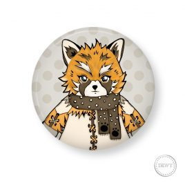 button-foxy by Dewy Venerius.
