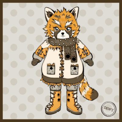 Foxy (Red Panda)
