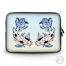laptop-case-koi-vissen by .