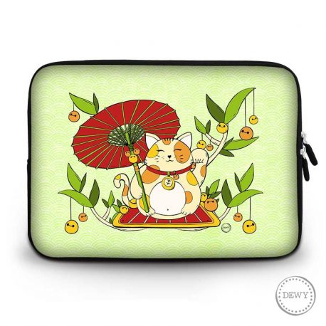 laptop-case-lucky-cat-parasol by .