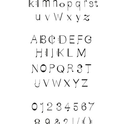 Font chcracters