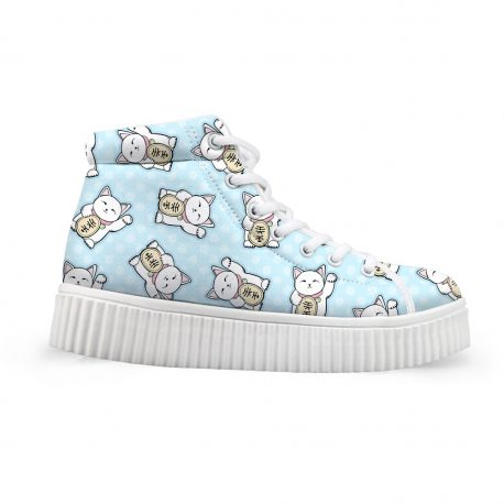 lucky-cat-shoes by .